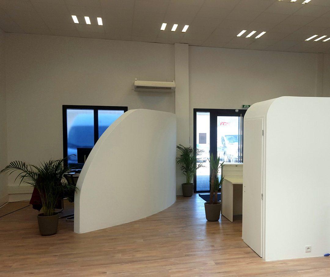 Rénovations de locaux commerciaux – Vaulx-en-Velin