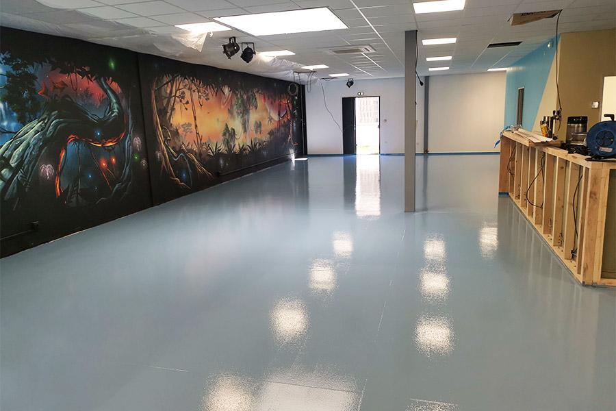 La peinture au sol, une solution à la fois esthétique, pratique et économique