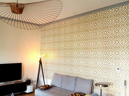 Peinture et papier peint, décoration intérieure