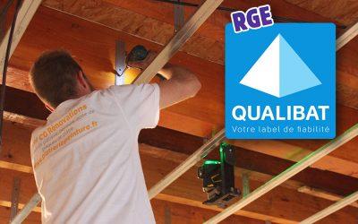 CG Rénovations certifié RGE Qualibat
